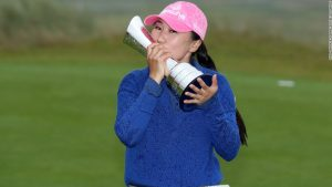 South Korean golfer conquers demons to win first major