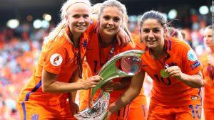 Lieke Martens: Dutch star celebrates Euro win