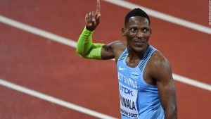 Makwala qualifies for 200m final after dramatic day