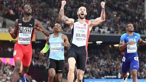 People's favorite Makwala beaten in 200m gold bid