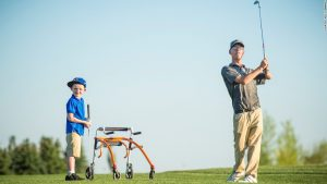 Golfer with cerebral palsy makes PGA Tour history