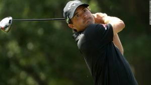 Kisner sets halfway pace as McIlroy finds going tough