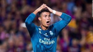 Ronaldo banned for five games after red card
