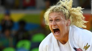 Olympic champion Kayla Harrison: 'Judo saved my life'