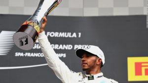 Belgian GP: Dominant Hamilton cruises to victory