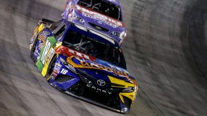 Kyle Busch completes three-series NASCAR sweep with win at Bristol