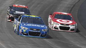 Jimmie Johnson downplays brewing NASCAR rivalry with Kyle Larson