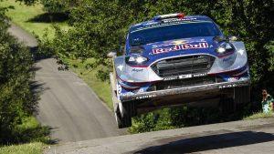 Ott Tänak claims second World Rally Championship win of season in Germany