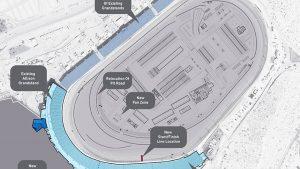 Photos: Phoenix Raceway Project begins grandstand extension stage