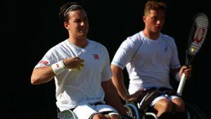 British Open Wheelchair Tennis Championships: Alfie Hewett beats Gordon Reid in semis