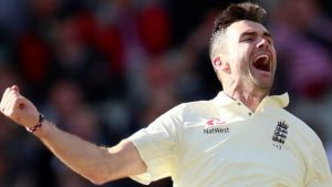 James Anderson: England bowler says it is 'surreal' to bowl at end named after him