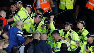 Burnley friendly abandoned after crowd trouble
