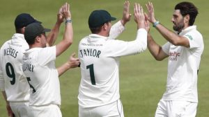 Derbyshire v Nottinghamshire: Chris Read sets record as Division Two leaders win