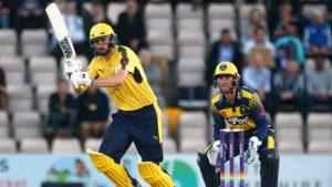 T20 Blast: James Vince's sparkling 60 helps Hampshire beat Glamorgan