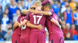 Guardiola relieved as Man City survive 'complicated' Brighton test