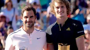 Rogers Cup: Alexander Zverev beats Roger Federer in Montreal final