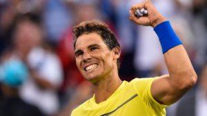 Rafael Nadal to return to number one after Roger Federer's Cincinnati withdrawal