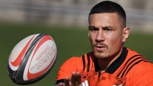 Rugby Championship: Sonny Bill Williams starts for New Zealand against Australia