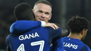 Everton take charge of Europa League tie