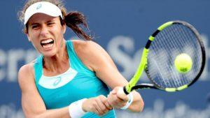 Cincinnati Open: Johanna Konta loses to Simona Halep in quarter-finals