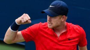 Winston-Salem Open: Britain's Kyle Edmund through to second round