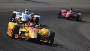Day after hard crash, Ryan Hunter-Reay finishes eighth at Pocono