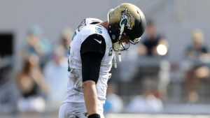Star wideout's frustration with Jaguars QB Blake Bortles bubbles to surface