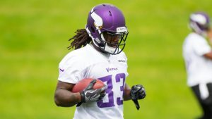 Vikings camp: Rookie Dalvin Cook looks like the real deal in full pads