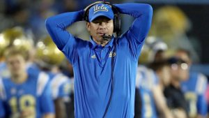 UCLA coach Jim Mora supports Josh Rosen decision to voice his opinion