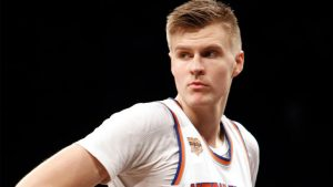 Report: Kristaps Porzingis is Cavaliers' primary target in Kyrie Irving trade talks