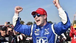 Josef Newgarden extends IndyCar championship lead but still focused on wins