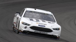 Brad Keselowski wins Monster Energy NASCAR Cup pole at his home track