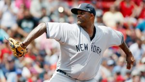 Sabathia headed to DL with knee inflammation