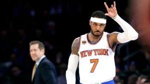 Knicks president blogs about team's future, doesn't mention Melo