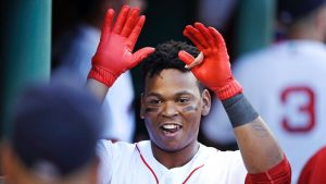 Rafael Devers giving the Red Sox the production Yoan Moncada couldn't