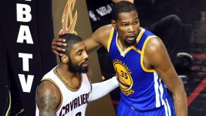 KD applauds Kyrie's 'courage' for wanting trade