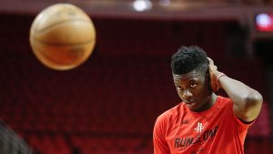 In aftermath of Hurricane Harvey, Clint Capela doing all he can to help
