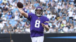 In a career rife with unpredictability, Vikings' Sam Bradford is calm as can be