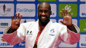 Unbeatable Teddy Riner wins ninth world title