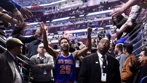 Derrick Rose gets emotional watching fan tribute video in China