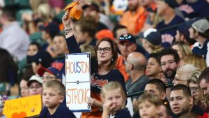 Astros return to Houston with hope baseball can help heal their ailing city