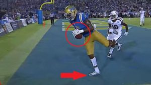 LOOK: Was UCLA's game-winning TD pass vs. Texas A&M actually incomplete?