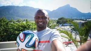 Arsenal legend Vieira remains loyal to Wenger