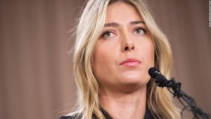 Maria Sharapova on her return from a drugs ban