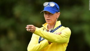 Sorenstam fights course design gender wars