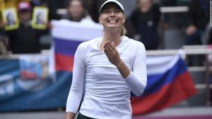 Sharapova climbs rankings after 'special' Tianjin win