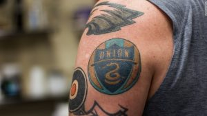 Meet soccer's Chief Tattoo Officer