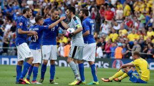 Italy or Sweden to miss out on World Cup