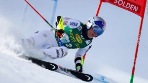 Vonn happy to be back as Rebensburg wins opener