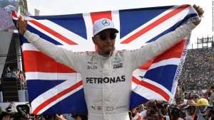 Lewis Hamilton wins fourth Formula One world title